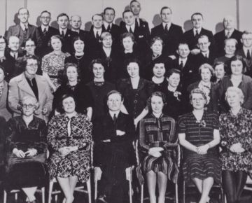 The RLSBC in 1940 with our founder, Dr Stanley Vann