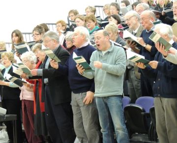 A recent 'Come and Sing' workshop